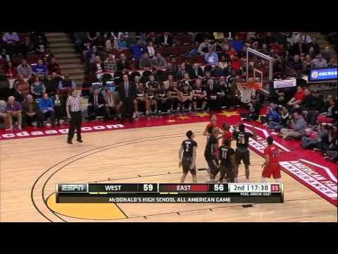 6a3914b5e34 McDonald s All American Game 2014 - YouTube