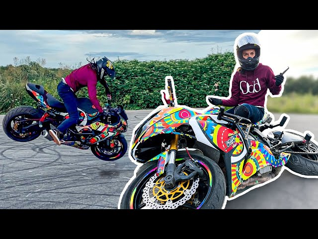 J'EXPLOSE MA MOTO...