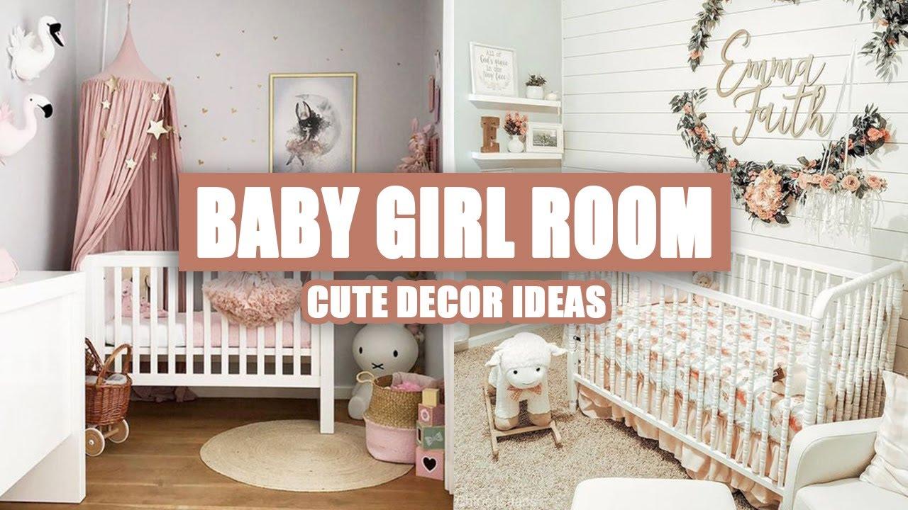 45 Cute Baby Girl Room Decor Ideas Youtube