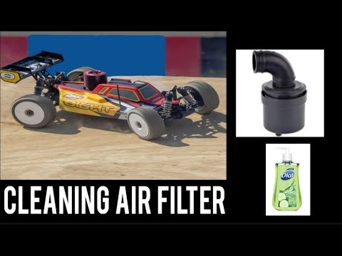 How I Clean My Nitro RC Air Filters