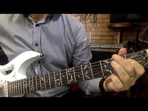 """The Time Is Now"" - John Cena's theme (easy guitar riff) with TABS see link"