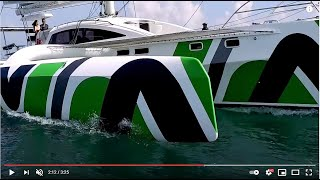 RAPIDO 60 TRIMARAN filmed by Mark Toia