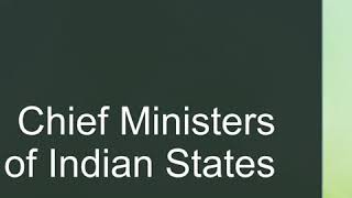 nta net political science# Chief ministers of India