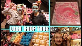 NIEUWE LUSH PRODUCTEN TESTEN (oa bath bombs en jelly bombs) | LUSH SHOP TOUR AMSTERDAM!