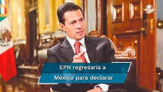 De acuerdo con la información publicada por el colaborador de esta casa editorial Carlos Loret de Mola en su columna, el expresidente le adelantó a su sucesor lo que diría frente al ministerio público en caso de que se le requiriera