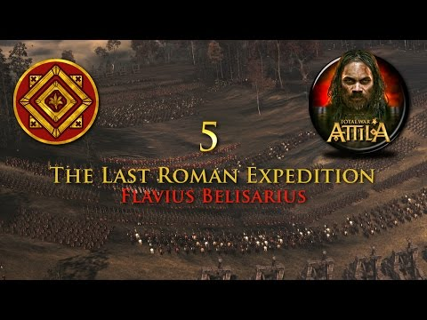 Total War: Attila - The Last Roman Expedition #5 - Marching up the Boot! |