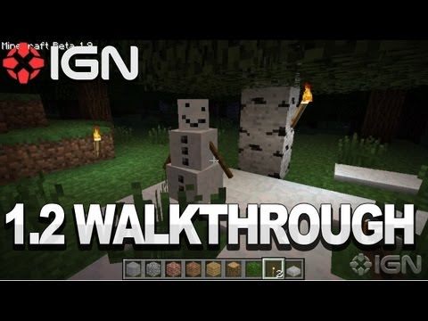IGN's Minecraft 1.2 Walkthrough