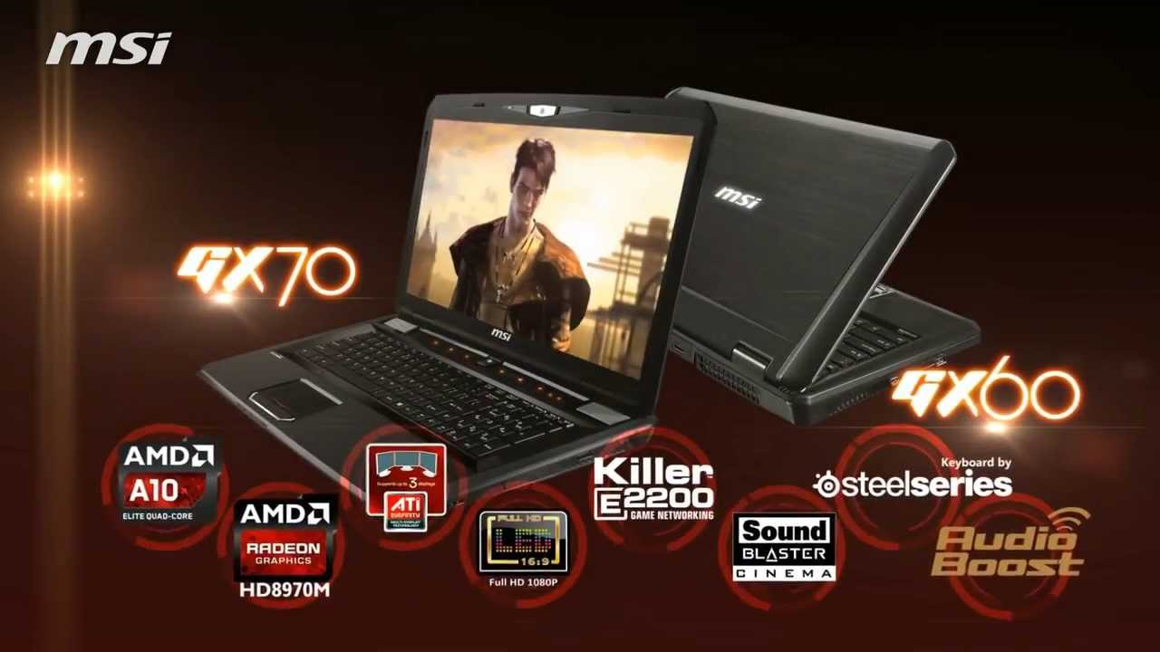 MSI GX70 Destroyer AMD Graphics Driver for Windows