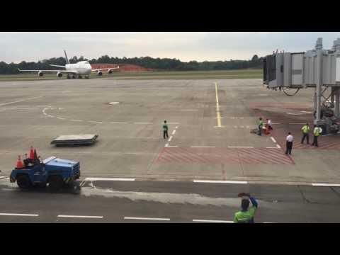 Welcome to Hang Nadim International Airport Ikan Paus nya Saudi Arabian👏🤗✈️