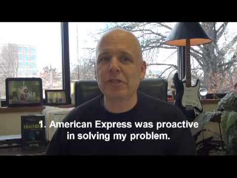Amazing American Express Customer Service Experience