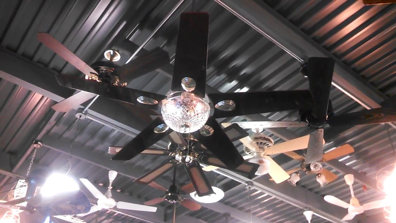 JCpenney Liberty Home Products Cut Crystal Ceiling Fan