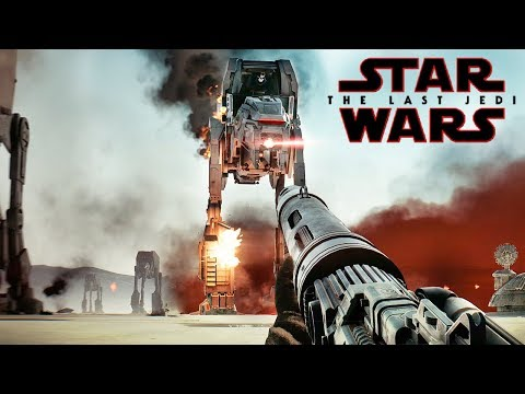 Star Wars Battlefront 2: THE LAST JEDI DLC Gameplay - ALL Maps, Heroes & Vehicles