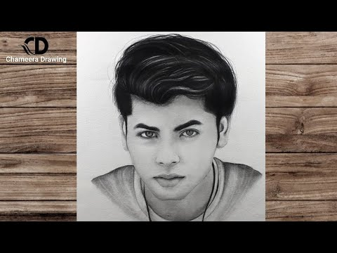 """How to draw a actor  """"Siddharth Nigam""""// stap by step drawing//Tutorial of bigginers// Art video"""