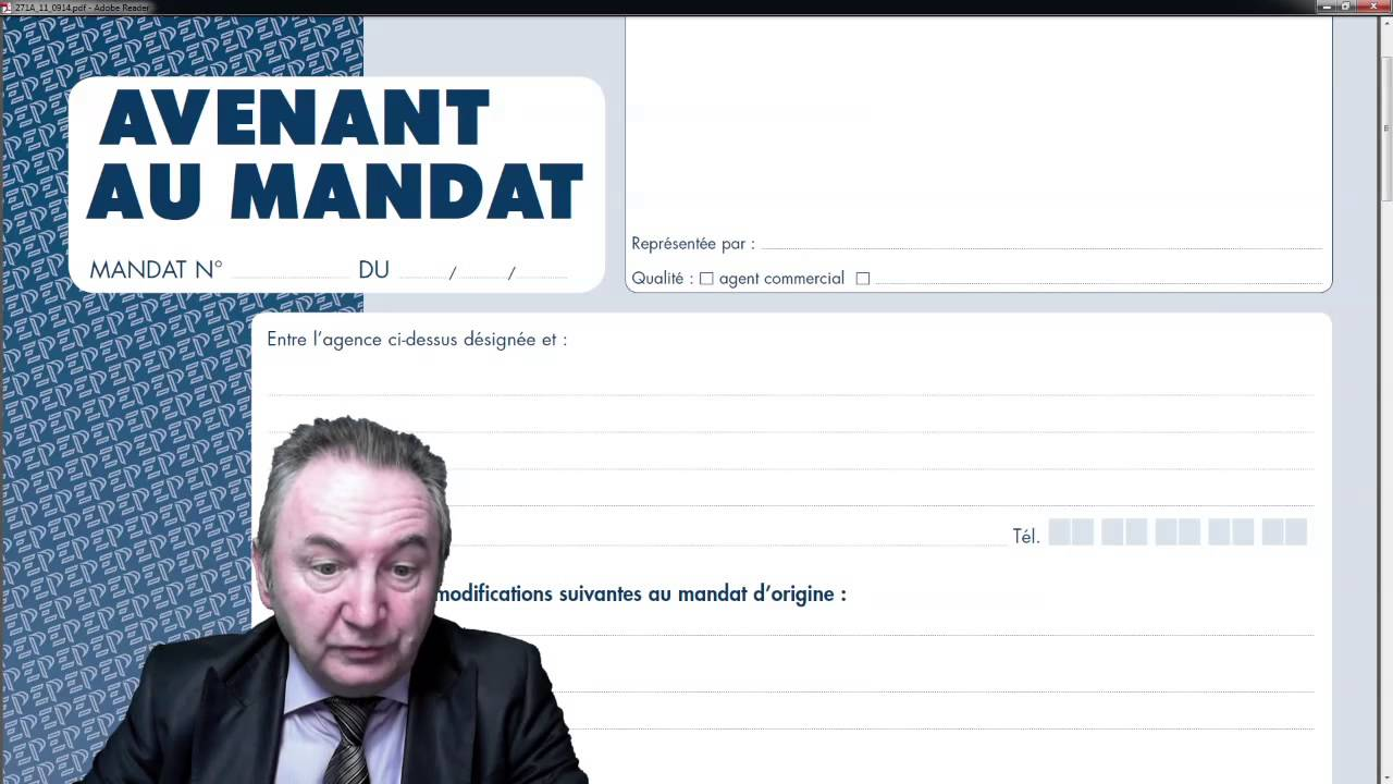 Editions Preference Avenant Au Mandat 271a Youtube