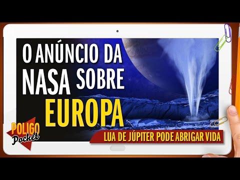 NASA Faz Nova Revelação Sobre Atividade Detectada na Lua Europa | PoligoPocket