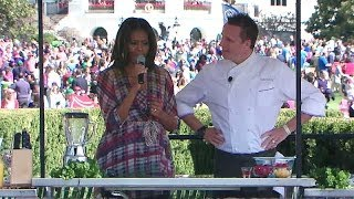 2014 White House Easter Egg Roll: Play with Your Food with First Lady Michelle Obama