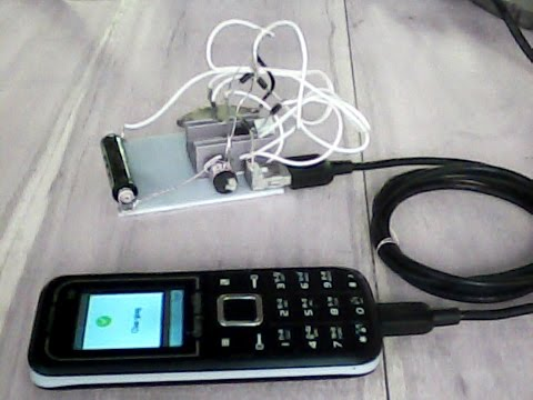 Free Energy , From Small To A Powerful Energy, Phone Charging Using 1.5V AAA Small Battery