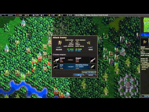 Let's Play Battle For Wesnoth - Part 1: Bring Out The Troops!