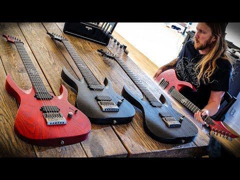 New Solar Guitars Artist A1.6 & A1.7