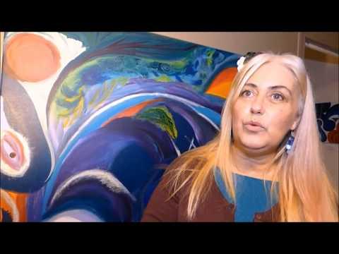 Perche Web TV Magda Hoibian Artiste peintre intuitive