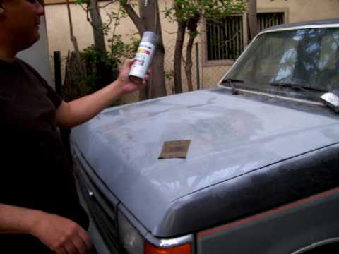 Car Painted With Primer