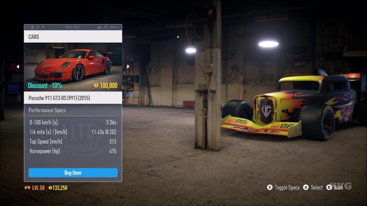 Need for speed road challenge/high stakes track description.