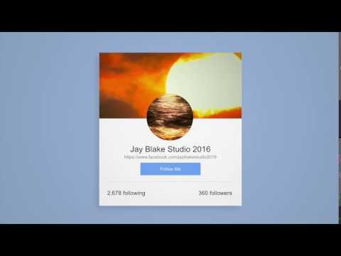 Social Media Follow Me - Jay Blake Studio 2016 ASIA