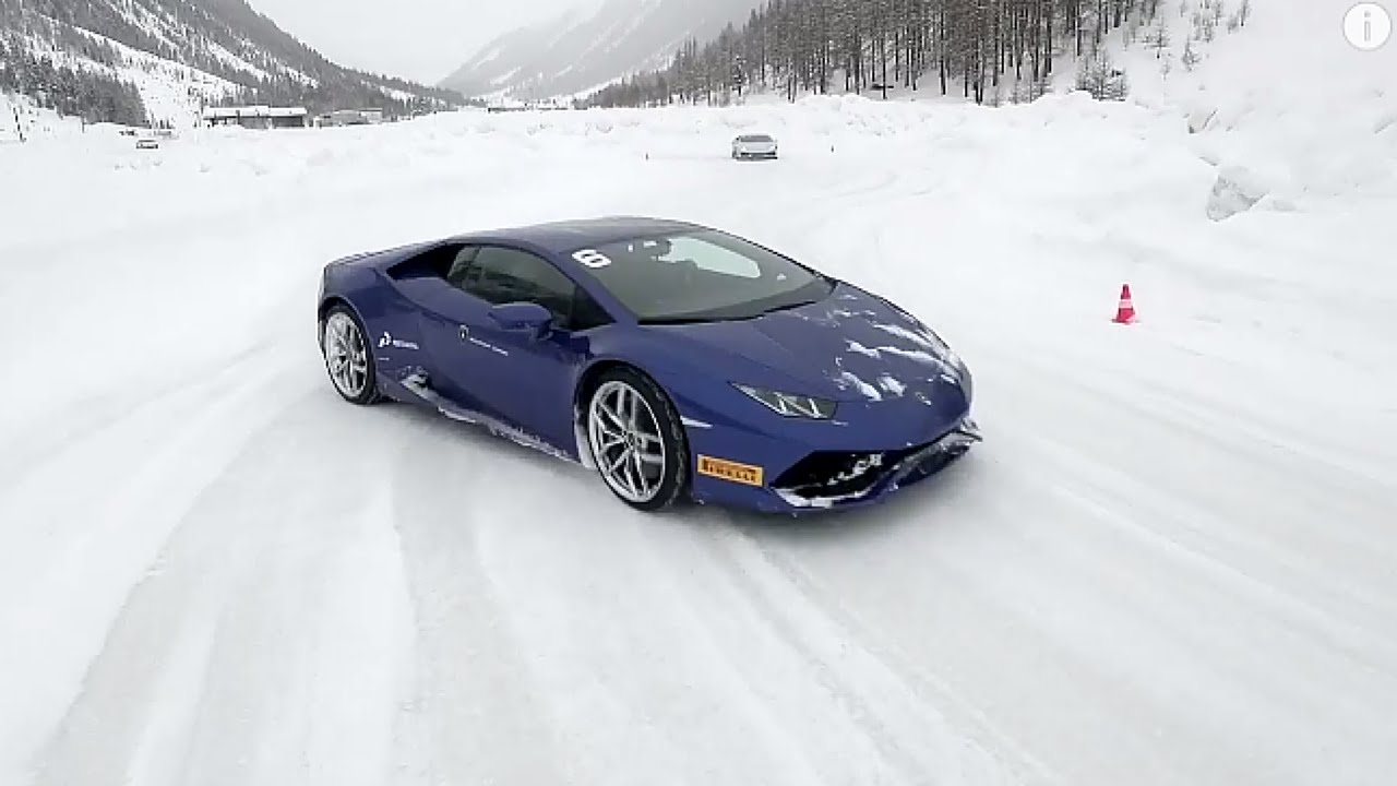 The ultimate ice driving experience: Lamborghini Winter Accademia
