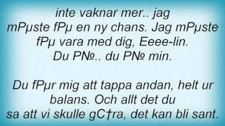 Magnus Carlsson - Elin Lyrics