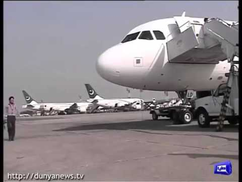 PIA Plane On Board Escapes An Accident at Karachi Airport