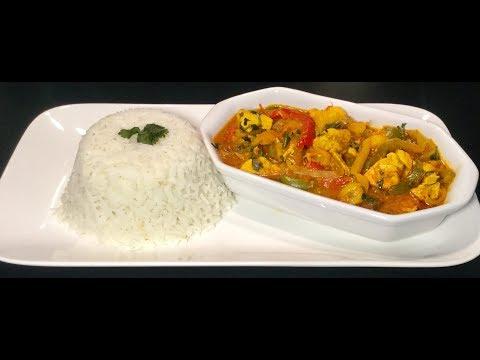 le-riz-au-poulet-et-aux-poivrons-À-l'indienne