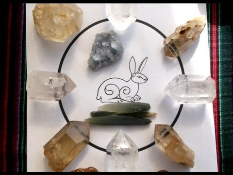 How to make a Crystal Grid to send Absent / Distant Healing ♥