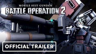 Mobile Suit Gundam: Battle Operation 2 - Official Western Announcement Trailer