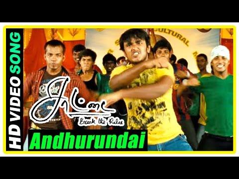 Saattai Tamil movie scenes | Andhurundai song | Prem wants Samuthirakani's student to lose