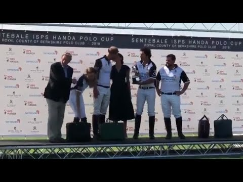 Meghan's Kiss For Her Prince - Duchess Rewards Harry After Team WINS Sentebale Polo Charity Cup 2018