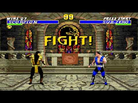 Ultimate Mortal Kombat 3 Scorpion