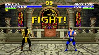 Ultimate Mortal Kombat 3 Scorpion