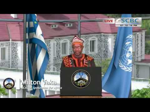 Milton Taka Spokesman for Africa talks to Ambazonia 26/09/2017
