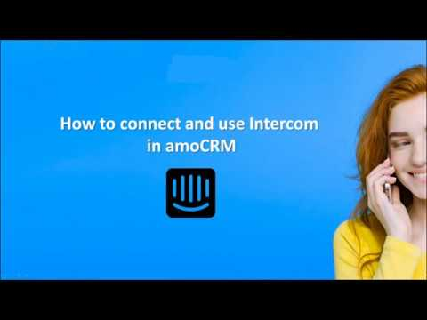 Download How to install and use Intercom   amoCRM Integrations