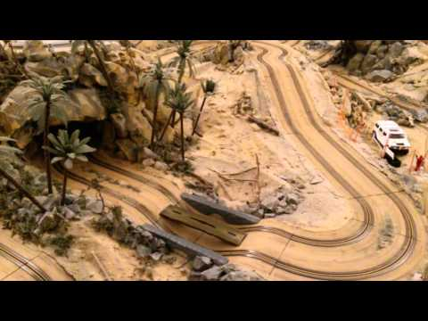 STS 4×4 Scalextric offroad Land R remolque