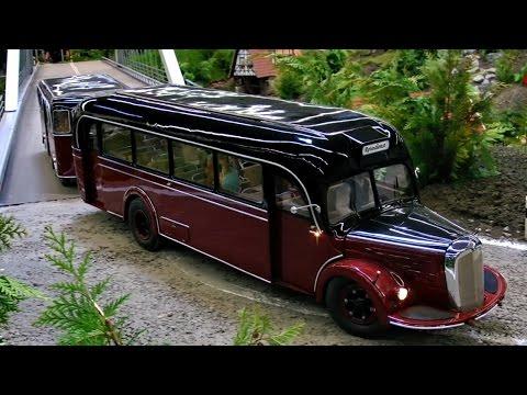 Rc Scale Old Bus Mercedes Benz 43 5kg O 6600 H Reisebus Db