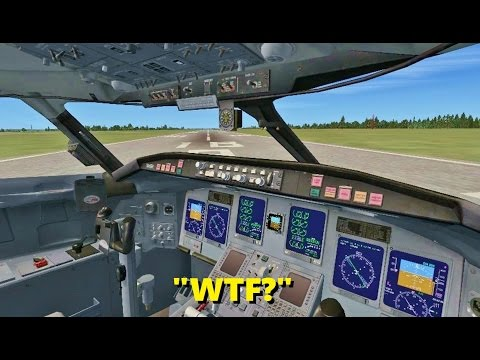 TROLLING as a CO-PILOT in Flight Simulator X! (Multiplayer)
