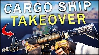 TAKING OVER THE CARGO SHIP! - Rust #3
