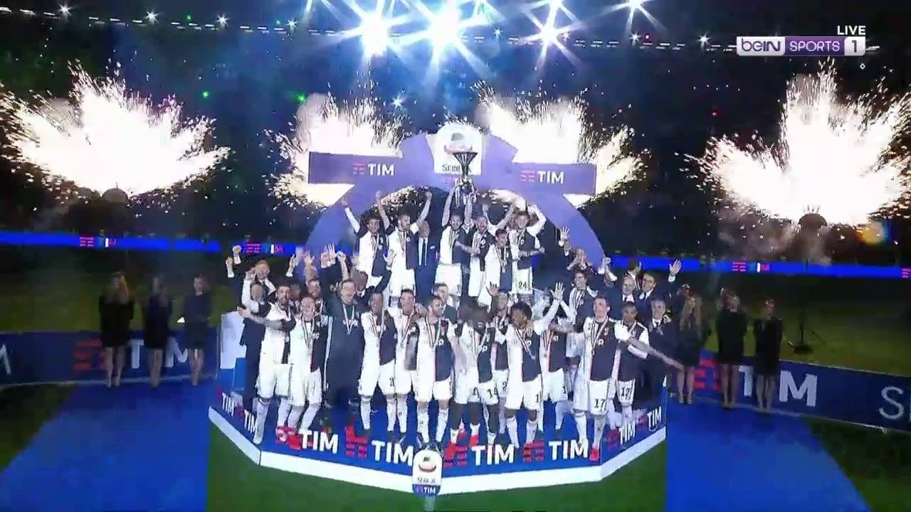 Download Juve's EPIC trophy celebration