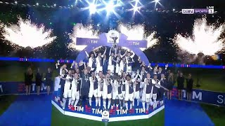 Juve\'s EPIC trophy celebration