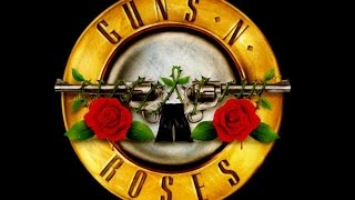 Guns n Roses - Out Ta Get Me GUITAR BACKING TRACK