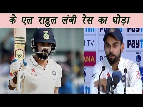 Virat Kohli calls KL Rahul best opening batsman for India | वनइंडिया हिन्दी
