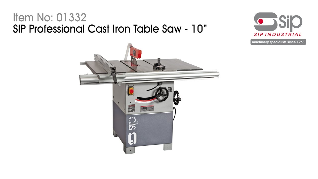 Sip industrial products item 01332 10 cast iron table saw 3hp sip industrial products item 01332 10 cast iron table saw 3hp greentooth Choice Image