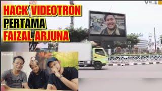 HACK VIDEOTRON PERTAMA FAIZAL ARJUNA (reaction)