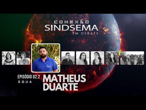 Matheus Duarte no Especial sobre Água, do Conexão Sindsema